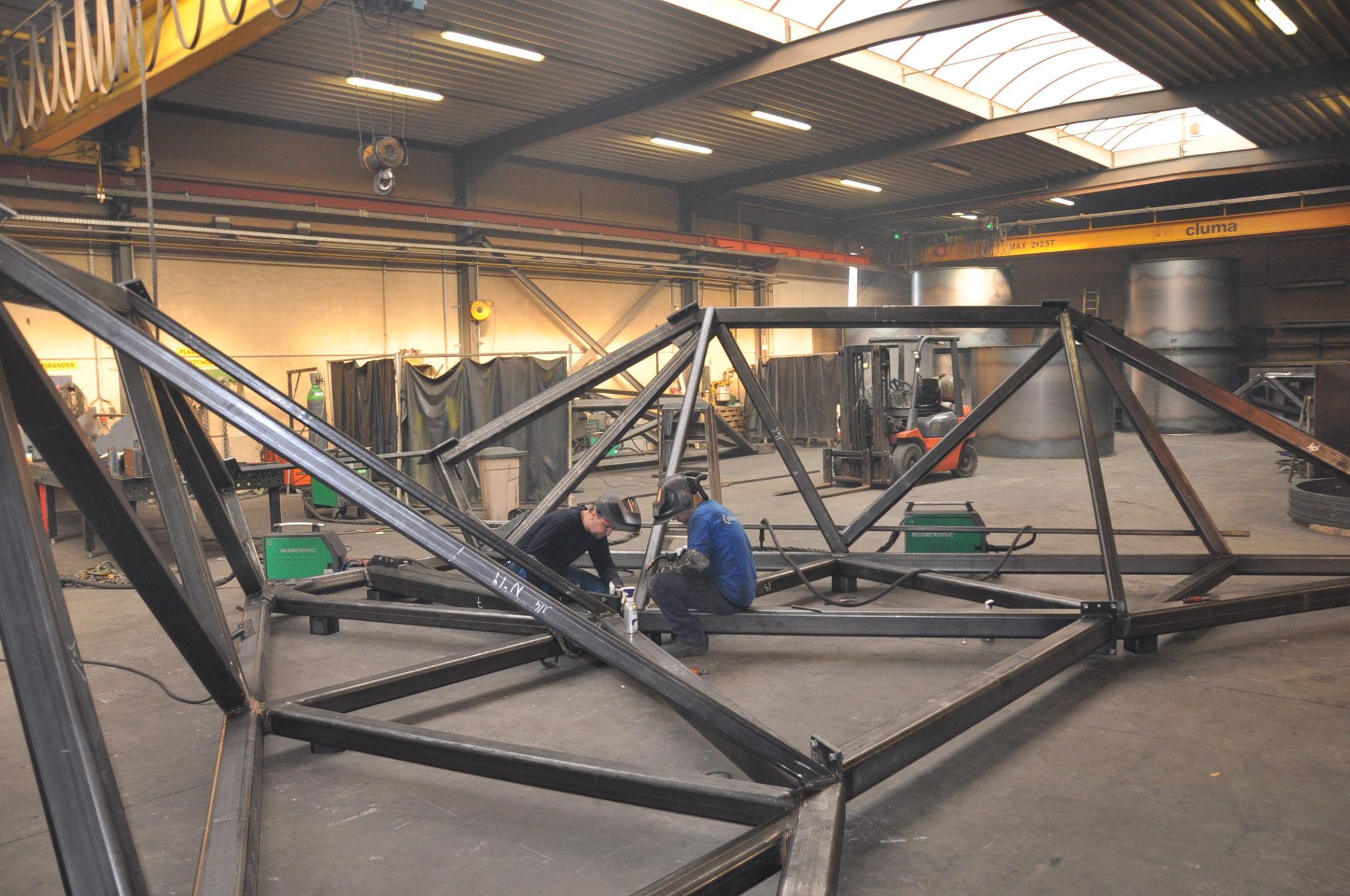 Metaalconstructeur Vuylsteke breidt uit met extra atelier in Heule